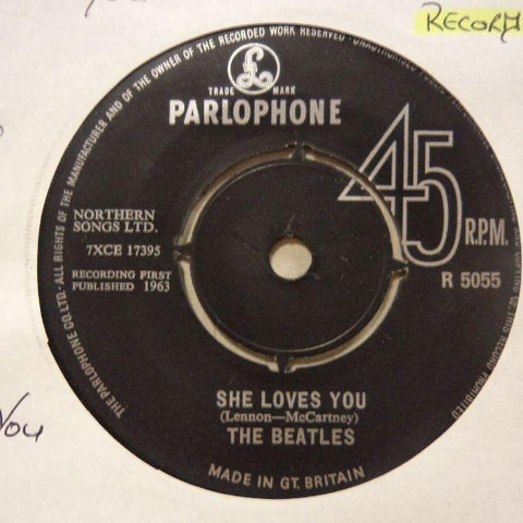 "The Beatles-She Loves You/ I'll Get You-7"" Vinyl"