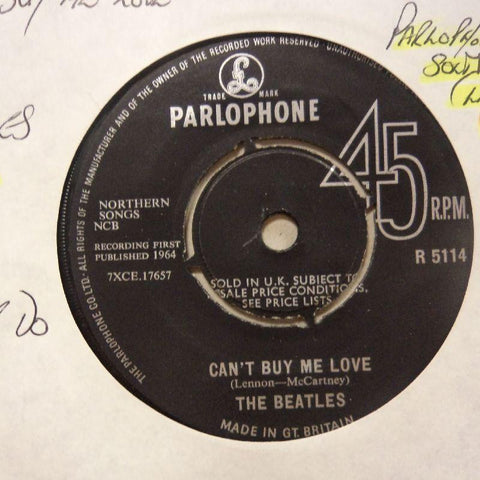 "The Beatles-Can't Buy Me Love/ You Can't Do That-7"" Vinyl"