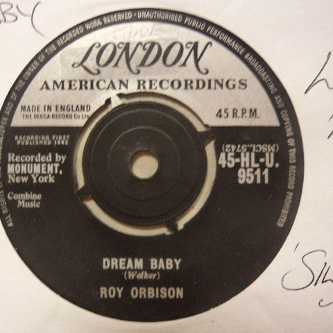 "Roy Orbison-Dream Baby/ The Actress-London-7"" Vinyl"