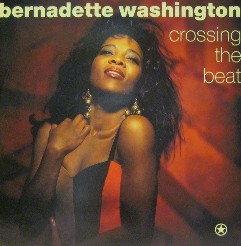 "Bernadette Washington-Crossing The Beat-Island-7"" Vinyl"