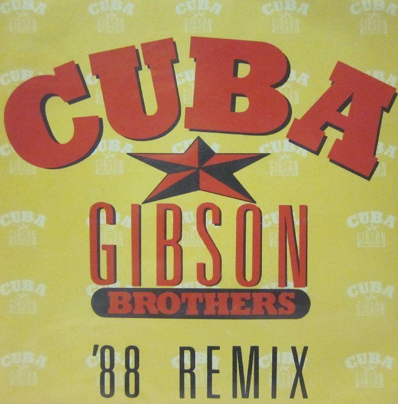 "Gibson Brothers-Cuba-Carrere-7"" Vinyl"