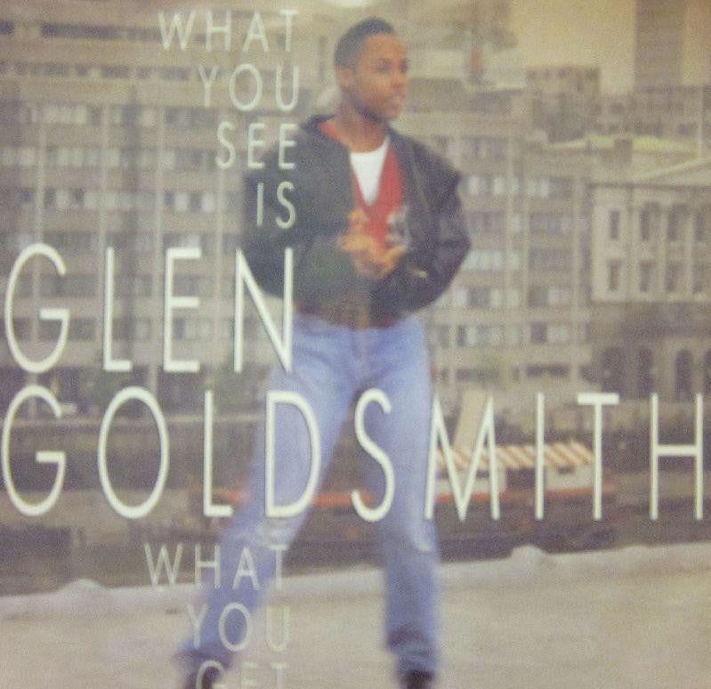 "Glen Goldsmith-What You See Is What You Get-RCA-7"" Vinyl"