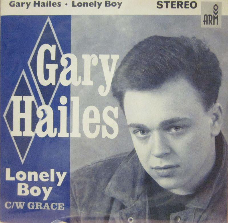 "Gary Hailes-Lonely Boy-Arm-7"" Vinyl"