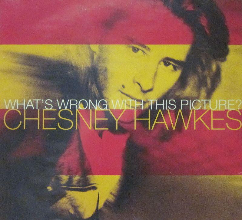 "Chesney Hawkes-What's Wrong With This Picture?-Chrysalis-7"" Vinyl"