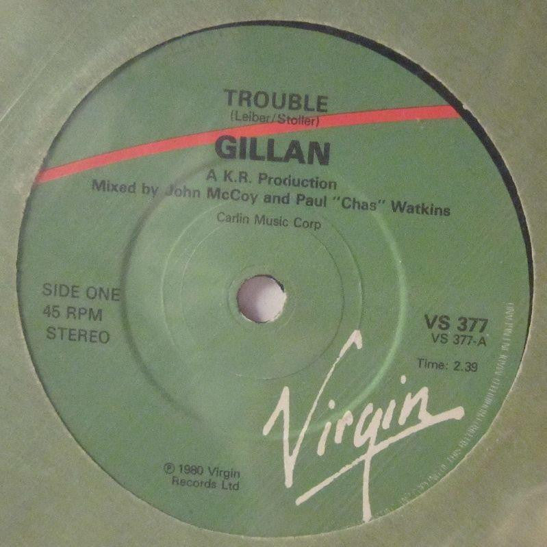 "Gillian-Trouble-Virgin-7"" Vinyl"