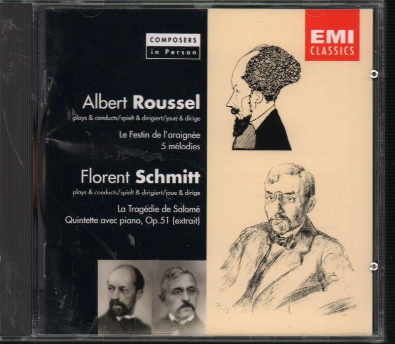 Roussel and Schmitt-Composers In Person: Spider's Banquet-CD Album