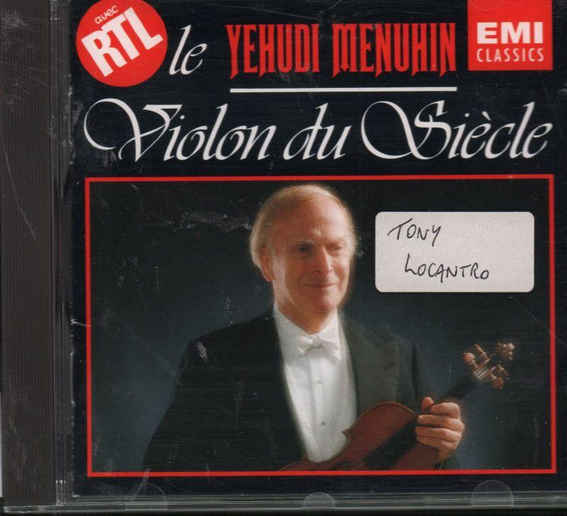 Menuhin-Le Violon Du Siecle-CD Album