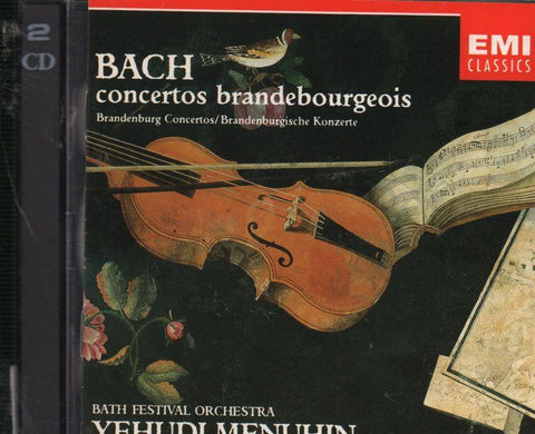 Bach-Brandenburg Concertos-CD Album