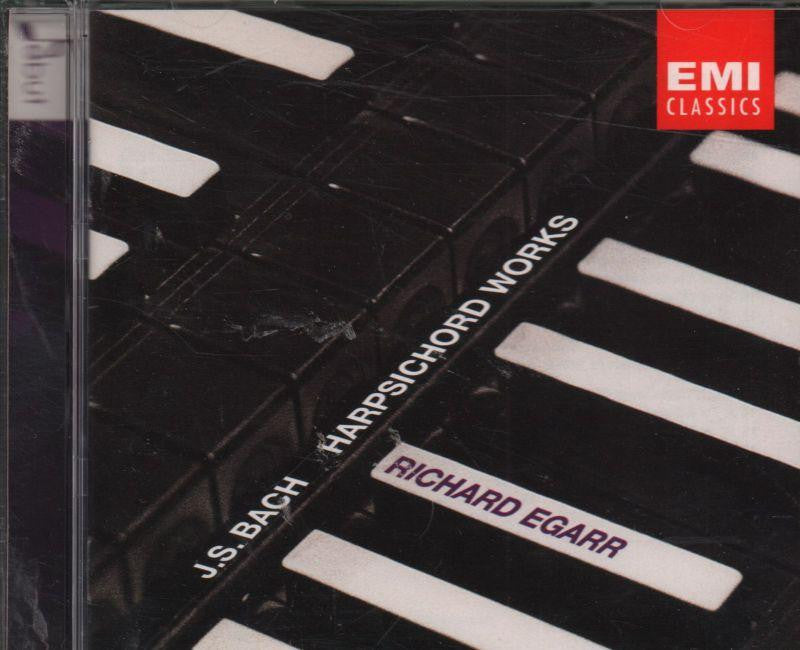 Bach-Keyboard Works-CD Album