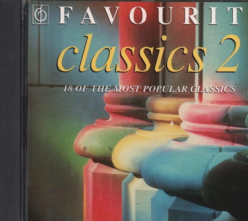 Various Classical-Favourite Classics, Vol.2-CD Album