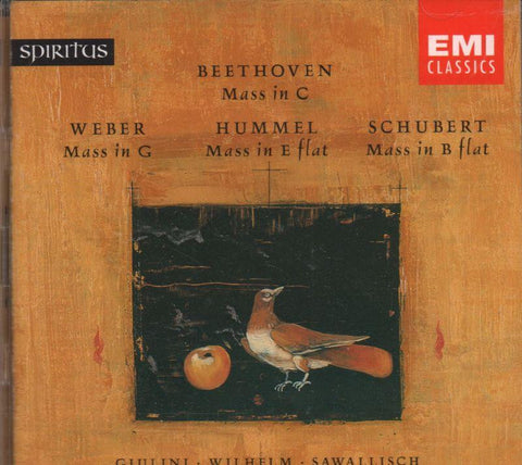 Beethoven-Hummel/ Schubert/ Weber: Masses-CD Album