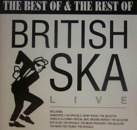 Various Reggae-British Ska Live: The Best Of & Rest Of-Action Replay-CD Album