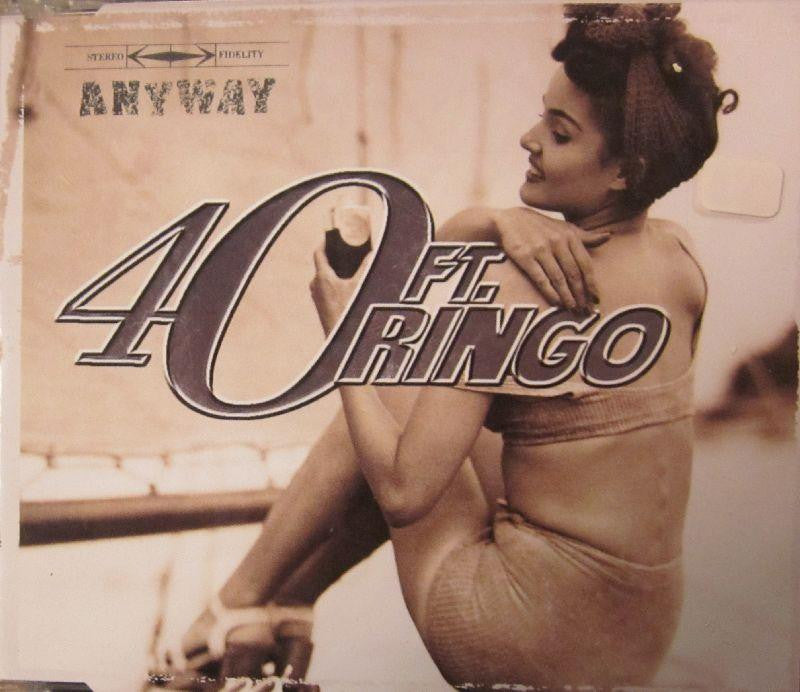 40FT. Ringo-Anyway-Atenzia-CD Single
