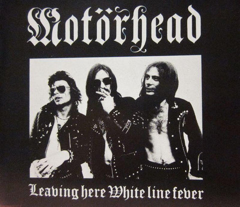 Motorhead-Leaving Here/ White Line Fever-Receiver-CD Single