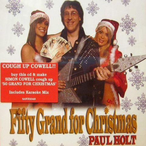 Paul Holt-Fifty Grand For Christmas-Sanctuary-CD Single