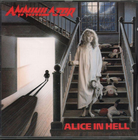 Annihilator-Alice In Hell-CD Album