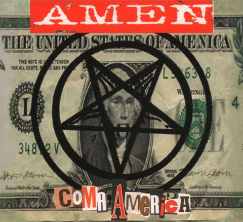 Amen-Coma America-CD Single