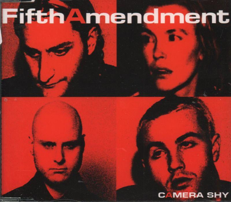 5th Amendment-Camera Shy-CD Single