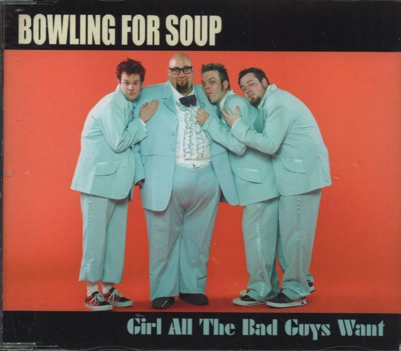 Bowling For Soup-Girl All The Bad Guys Want (Cd2)-CD Single