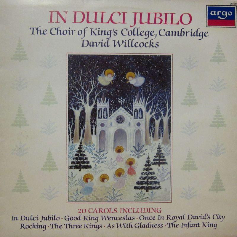 The Choir of Kings College Cambridge-In Dulci Jubilo-Argo-Vinyl LP