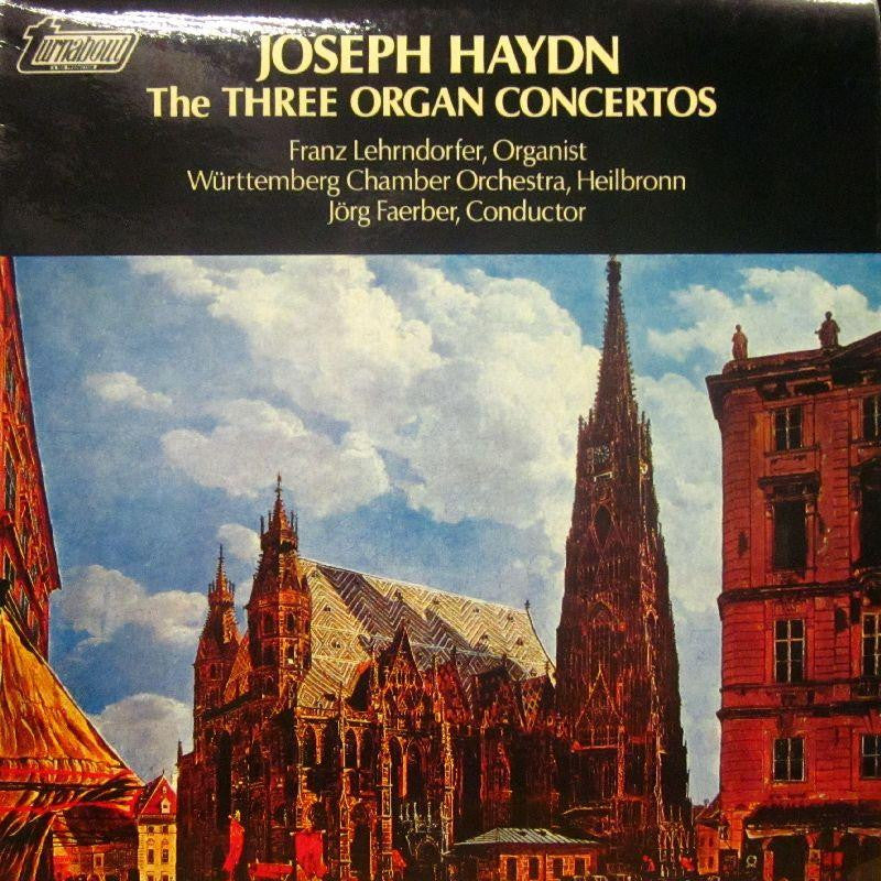 Haydn-The Three Organ Concertos-Turnabout-Vinyl LP
