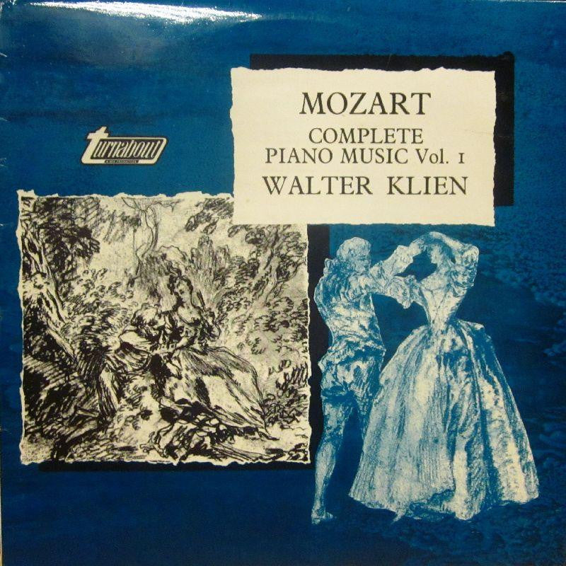 Mozart-Complete Piano Music Vol 1-Turnabout-Vinyl LP
