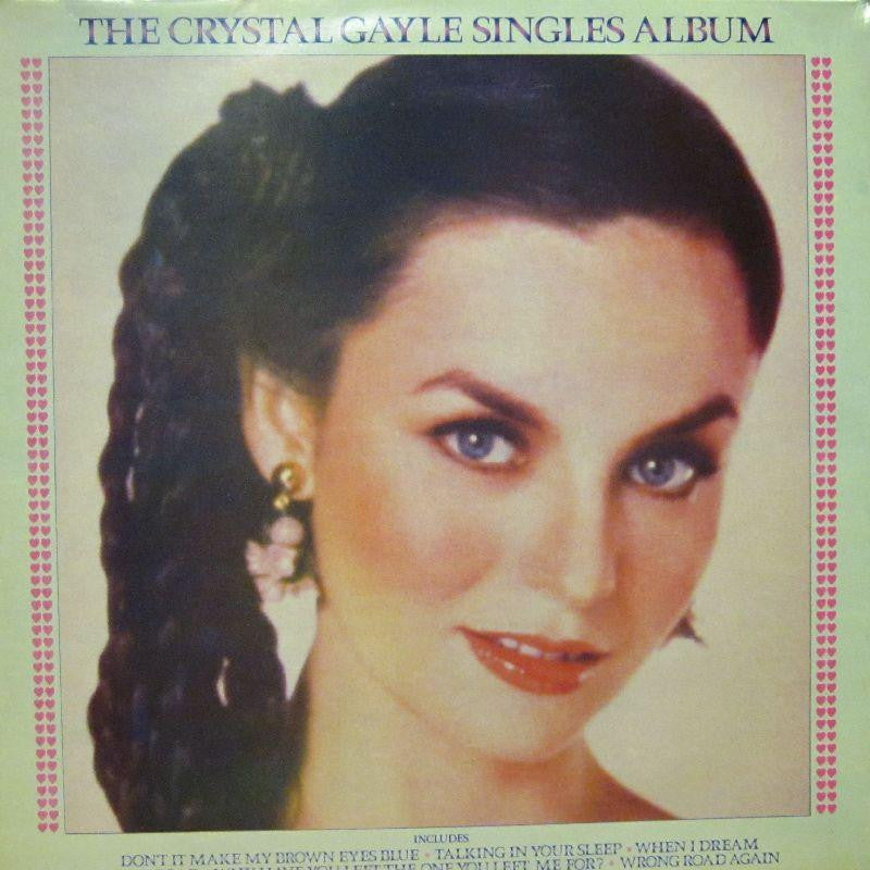 Crystal Gayle-The Singles Album-United Artist-Vinyl LP