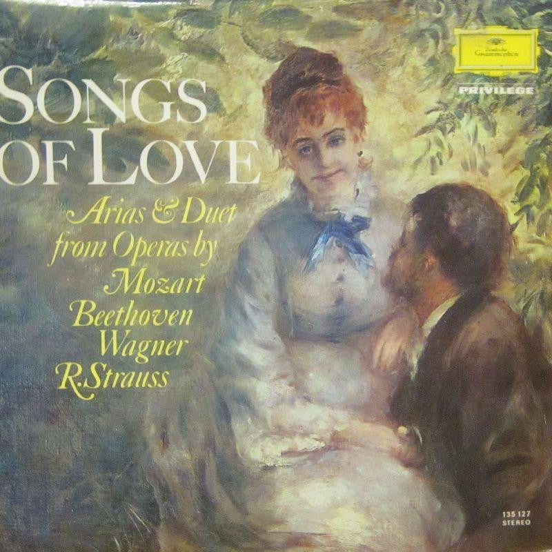 Mozart/Beethoven/Strauss-Songs Of Love-Deutsche Grammophon-Vinyl LP