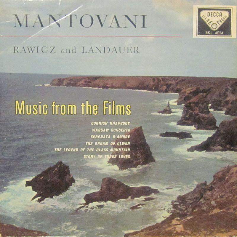 Mantovani-Music From The Films-Decca-Vinyl LP