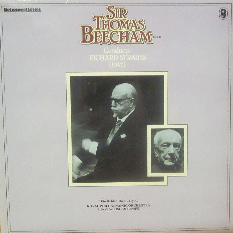 Sir Thomas Beecham-Conducts Richard Strauss-World Record Club-Vinyl LP