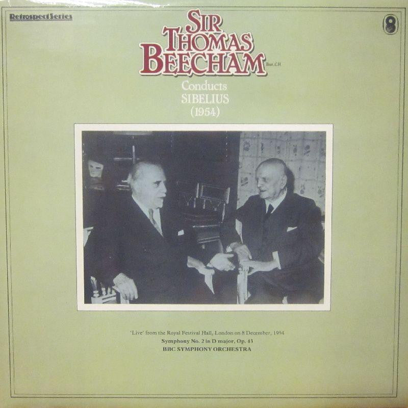 Sir Thomas Beecham-Conducts Sibelius-World Record Club-Vinyl LP