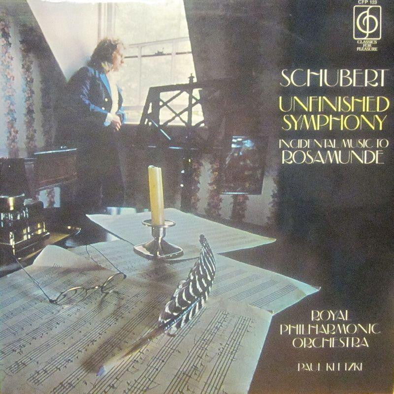 Schubert-Unfinished Symphony-Classics For Pleasure-Vinyl LP