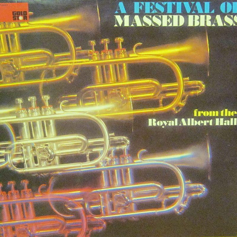 A Festival Of-Massed Brass-Rediffusion Gold Star-Vinyl LP