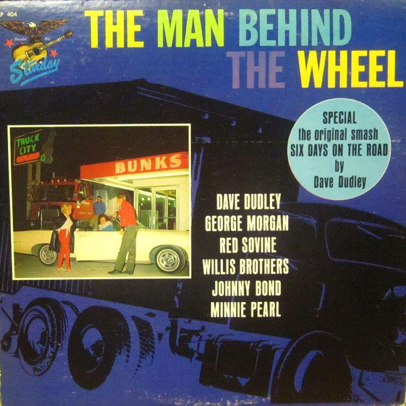 Various Country-The Man Behind The Wheel-Gusto-Vinyl LP