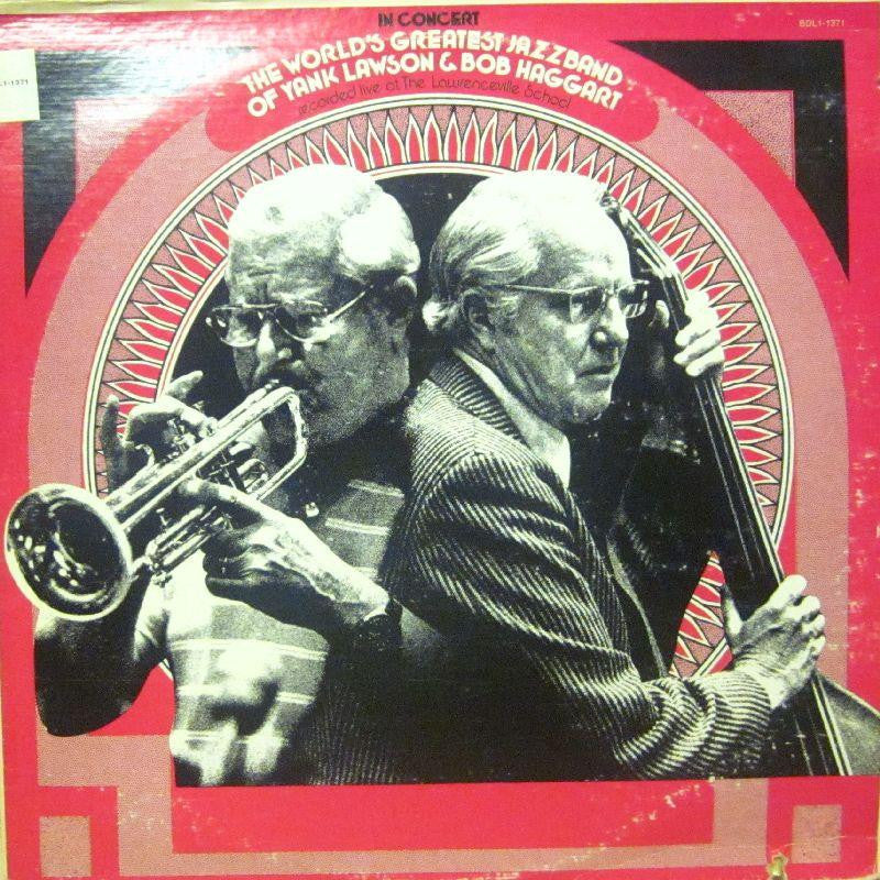 The World's Greatest Jazzband of Yank Lawson & Bob Haggart-In Concert-Flying Dutchman-Vinyl LP