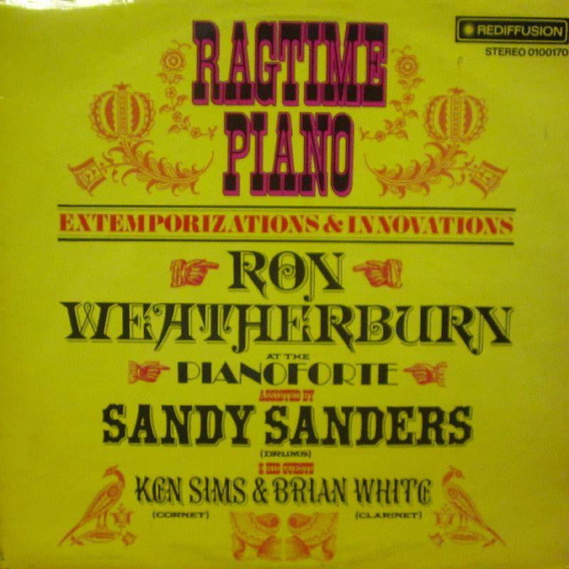 Ron Weatherburn-Ragtime Piano-Rediffusion-Vinyl LP