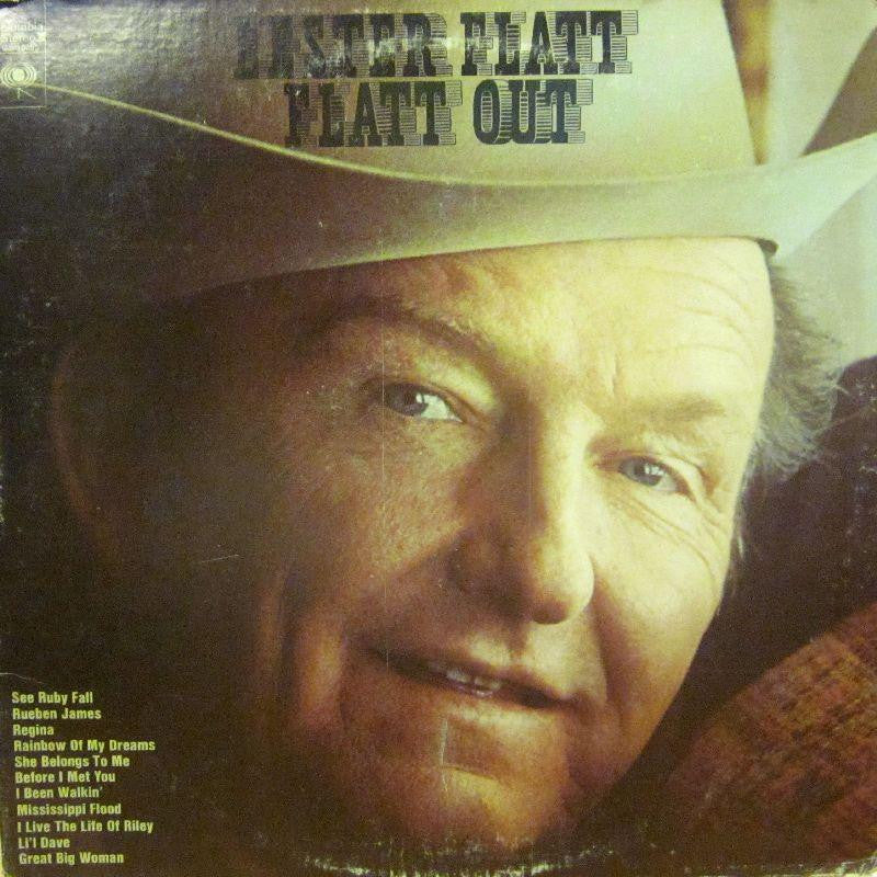 Lester Flatt-Flatt Out-Columbia-Vinyl LP