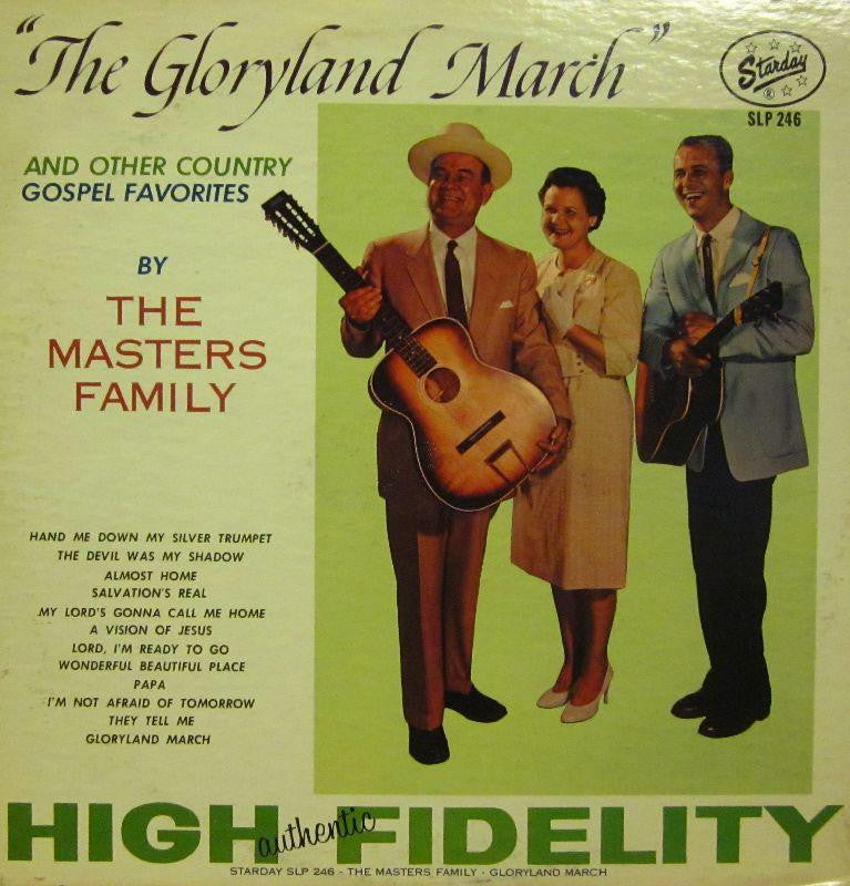 The Masters Family-The Gloryland March-Starday-Vinyl LP