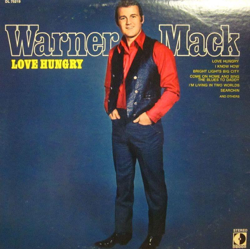 Warner Mack-Love Hungry-Decca-Vinyl LP
