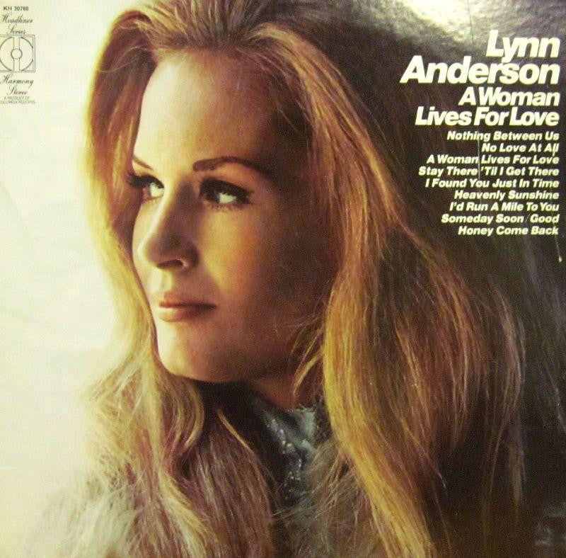 Lynn Anderson-A Women Lives For Love-Harmony-Vinyl LP