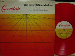 Jimmy Kaleth & Richard Thomas-The Presentation Machine-Cavendish Music-Vinyl LP