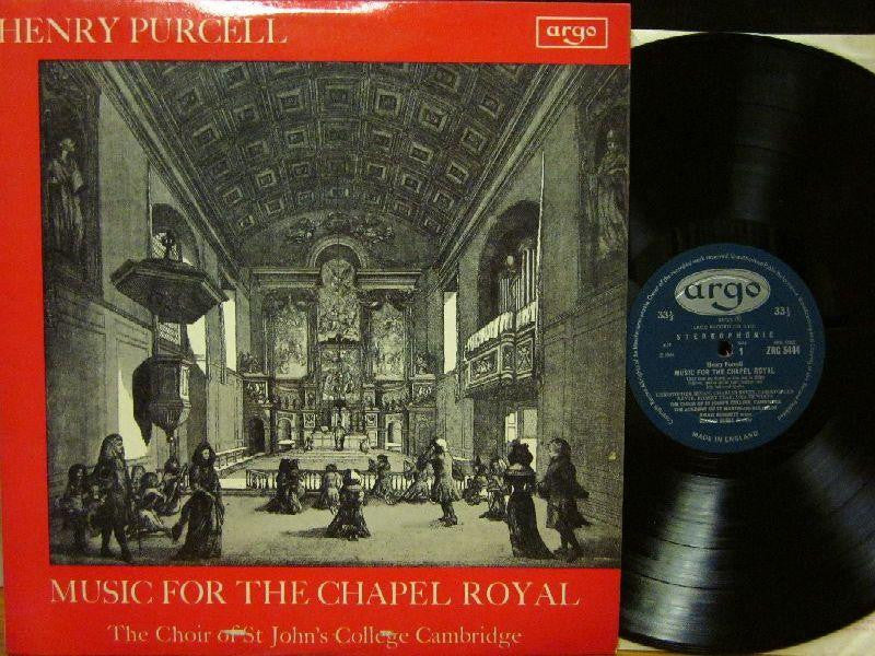 Purcell-Music For The Chapel Royal-Argo-Vinyl LP