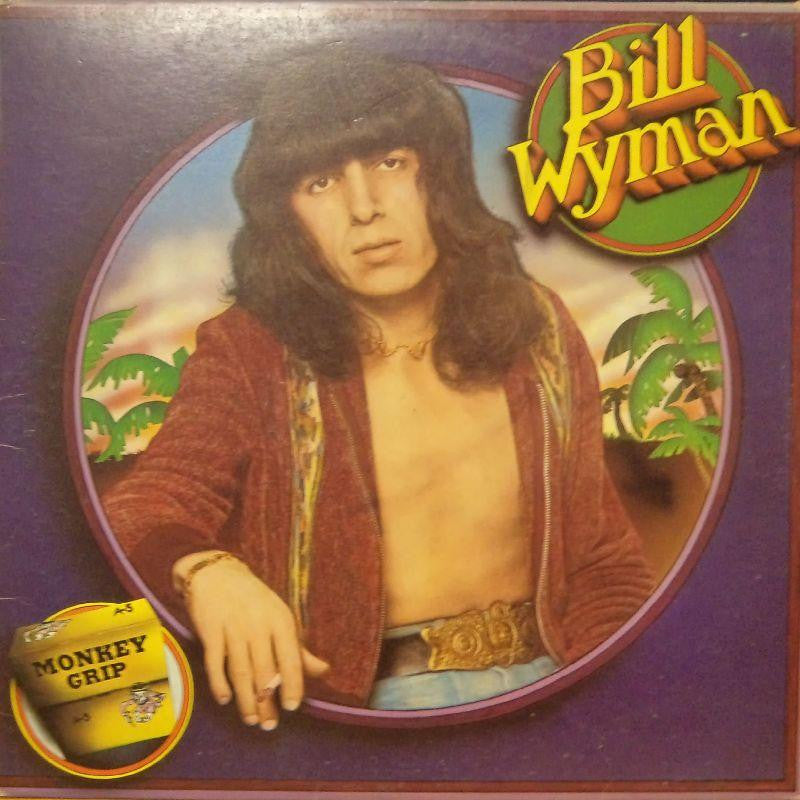 Bill Wyman-Monkey Grip-Rolling Stones-Vinyl LP