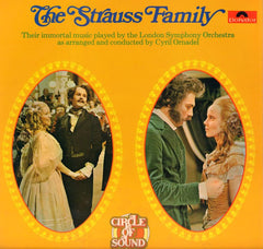 "The Strauss Family-Polydor-2x12"" Vinyl LP Gatefold"