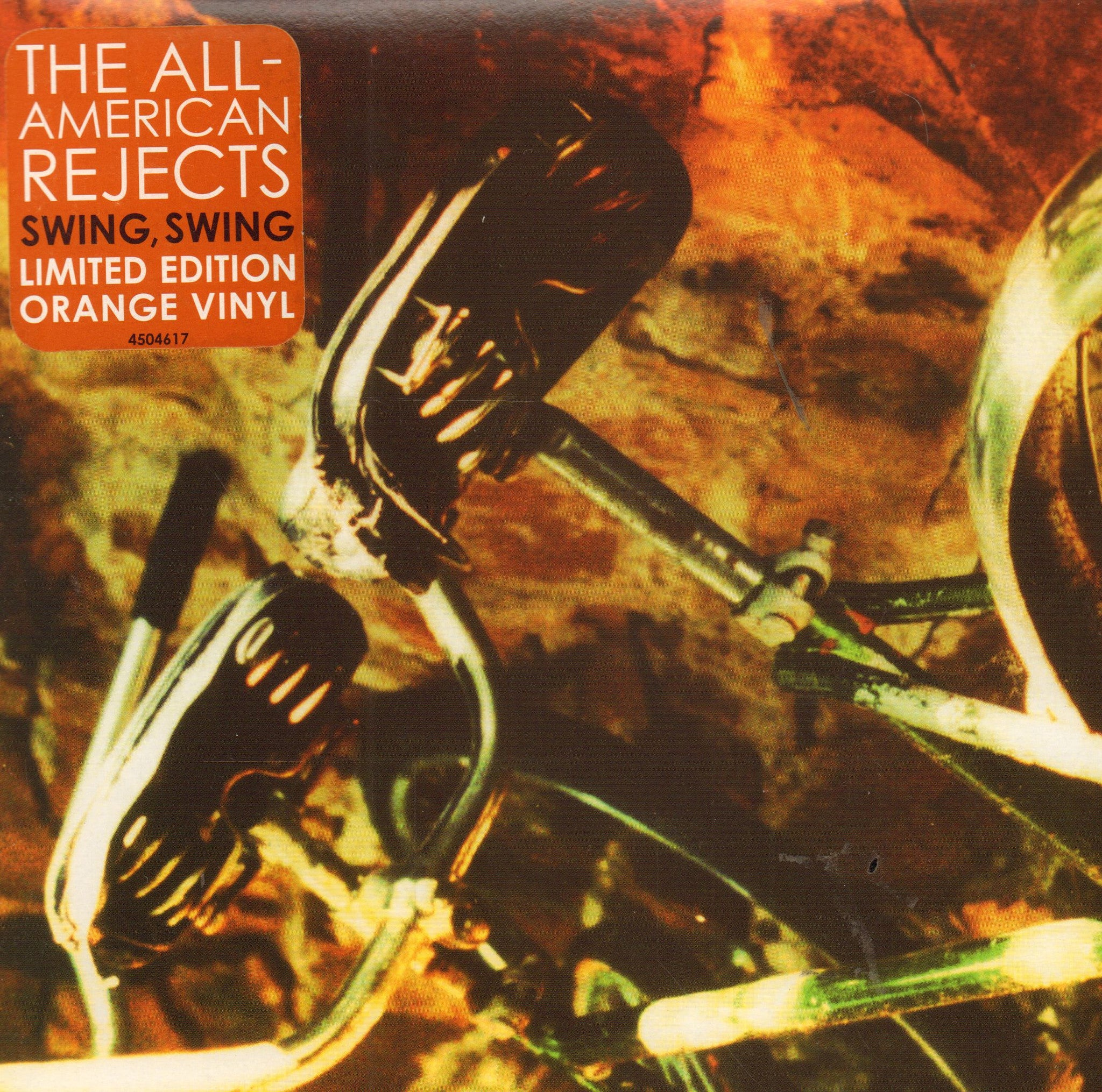 "The All American Rejects-Swing,Swing-Doghouse-7"" Vinyl P/S"