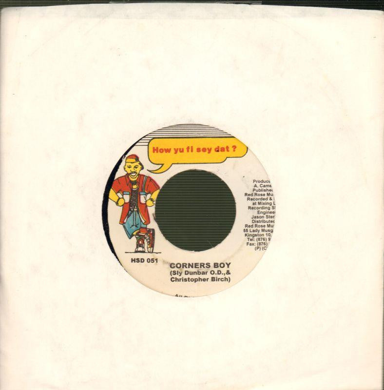 "Monster Shack-Fun Time / Corner Boy-Red Rose-7"" Vinyl"
