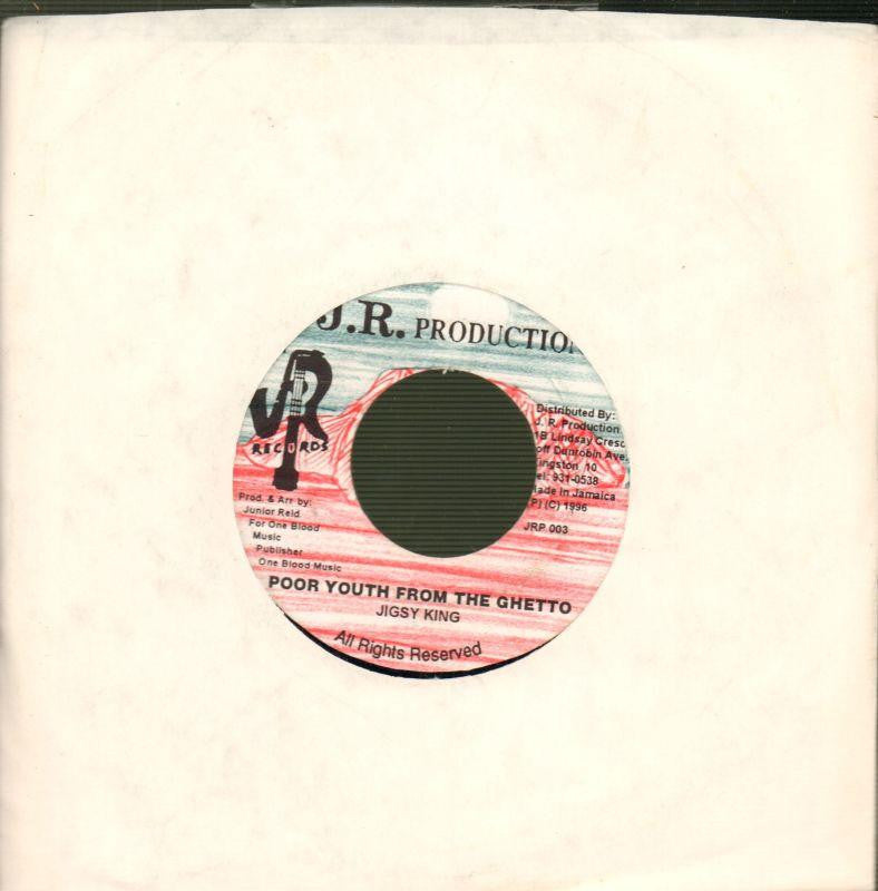 "Jigsy King-Poor Youth From The Ghetto-JR-7"" Vinyl"