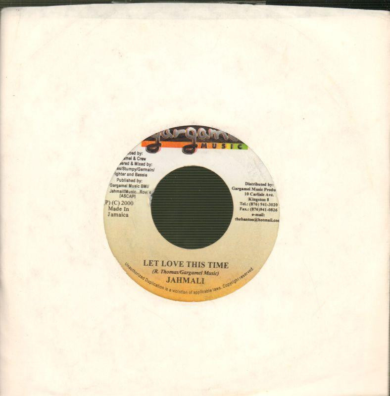 "Jahmali-Let Love This Time-Gargamel-7"" Vinyl"
