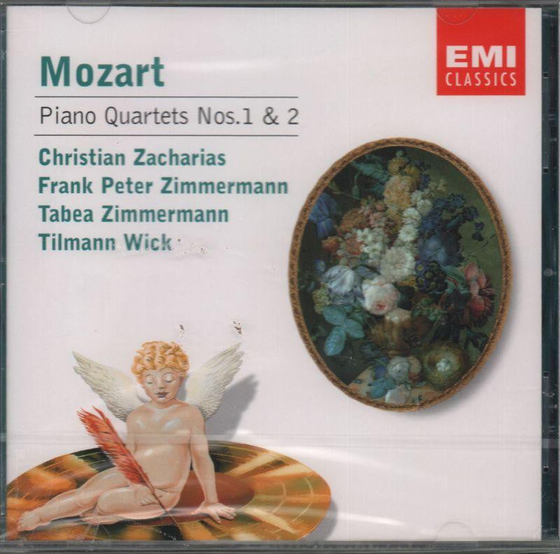 Mozart-Piano Quartets Nos. 1 And 2-CD Album