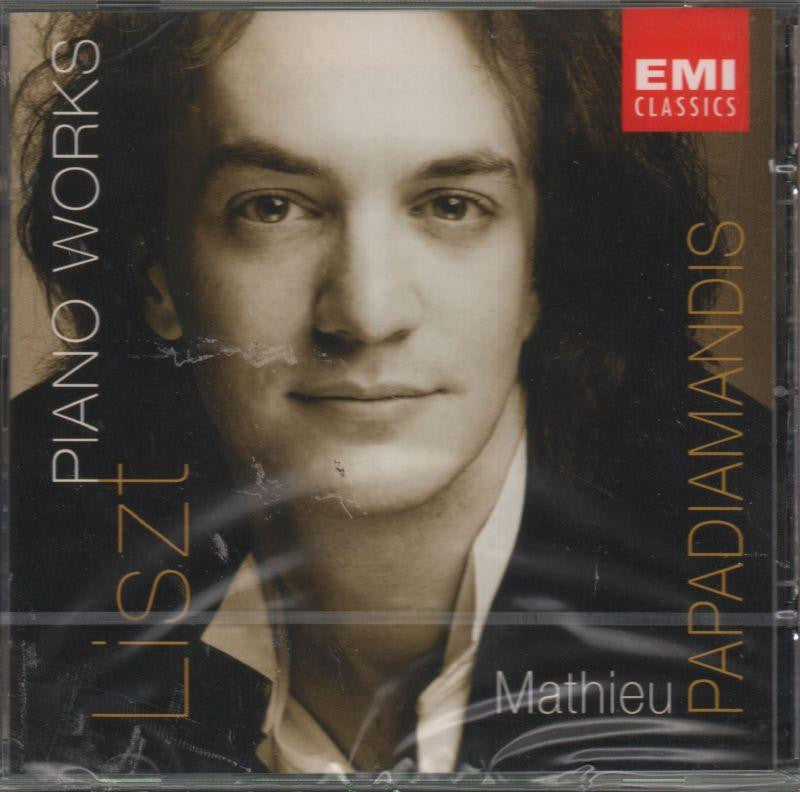 Mathieu Papadiamandis-Franz Liszt - Piano Works-CD Album